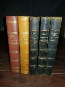 Lot de livres de Pierre Benoit. Reliés. Albin Michel.