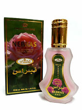 Nebras 35ml by Al RehabTaif Rose Citrus Arabian Oudh Sandalwood Perfume Spray