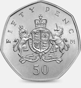 2013 50P COIN RARE CHRISTOPHER IRONSIDE 100TH ANNIVERSARY FIFTY PENCE a