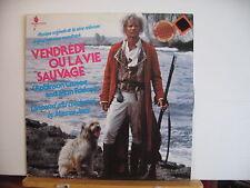 VENDREDI OU LA VIE SAUVAGE Robinson Crusoe and Man Friday TV SOUNDTRACK VINYL LP