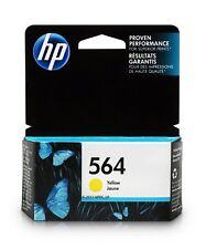 HP 564 Yellow Original Ink Cartridge (CB320WN),Yield 300
