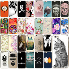 Custodie Ultra Slim Pattern TPU Protector Case Cover For iPhone 5s 6s 7 PLUS SE