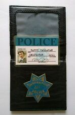 Dirty Harry ID Card Wallet Inspector Toy Badge Clint Eastwood Harry Callahan