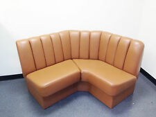 Yacht Corner Leather Sofa Couch, with Storage
