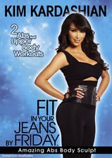 Kim Kardashian Fit in Your Jeans by Friday - ABS Body Sculpt DVD