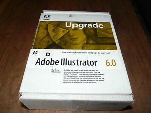 Adobe Illustrator 6.0 deutsche Upgradeversion für Mac Rarität
