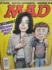 Mad    Michael Jackson  {speaks out}     2004 magazine new/no-label