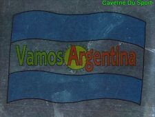 FLAG VAMOS ARGENTINA FIGURINE STICKER WORLD CUP VALLARDI MONDIALE ITALIA 90