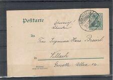 Echte Briefmarken-Ganzsachen aus dem deutschen Reich (1900-1918)