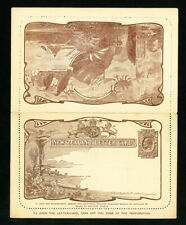 New Zealand Rare Early Letter Card