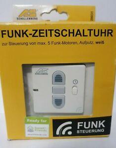 Schellenberg 20031 Smart-Home Funk Zeitschaltuhr Steuerung für Rolläden