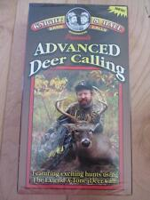 KNIGHT & HALE VHS MOVIE ADVANCED DEER CALLING HUNTING FEATURES EXTEND A TONE