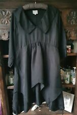 THE MASAI CLOTHING CO BLACK LAGENLOOK DRESS SIZE M UK 12  SO CLASSY