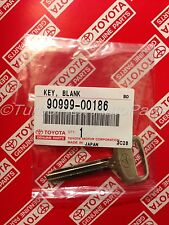 Toyota Metal NON-Transponder Blank Key Genuine OEM    90999-00186
