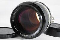 Near Mint - Nikon NIKKOR 85mm f/2 Ai-s MF Prime Porrait Lens *318
