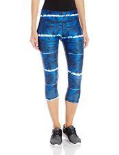 Puma All Eyes on Me Femmes Bleu Running Gym Capri Leggings Collants Corsaire M