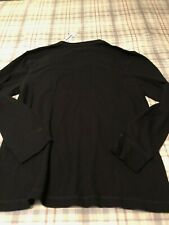 Old Navy Long Sleeve Shirt - Black - Xl/Tg - New With Tags