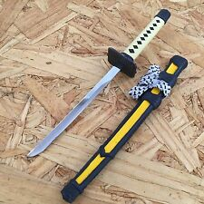 NEW! Yellow Mini Japanese Samurai Sword Letter Opener Gift w/ Display Stand -TH