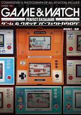 GAME & WATCH Perfect Catalog Japanese book game Super Mario Brothers Donky Kong