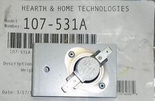 HHT Heatilator Heatnglo Fireplace Fan Blower Heat Switch F110-20F  107-531A