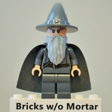 New Genuine LEGO Gandalf the Grey w/ Wizard/Witch Hat Minifig LOTR Hobbit 79003