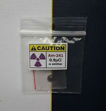 Americium Alpha Geiger Counter Check Source Test Sample free shipping