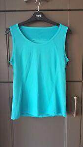 M&S Turquoise Sports Vest Size 14