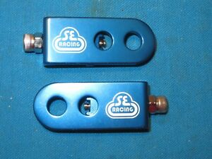 """SE Racing Bicycle Chain Tensioner Blue Lock Kit Fits 3/8"""" Axles - New"""
