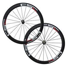 Csc U Shape 50mm Clincher carbon Bicycle road wheelset 23mm,25mm,27.5mm width