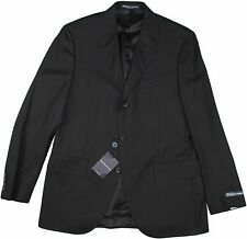 POLO RALPH LAUREN BLACK WOOL JACKET-SIZE 40-MADE IN ITALY $1095.00