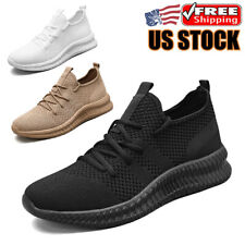 Men's Sports Shoes Casual Walking Tennis Athletic Sneakers Gym Lightweight US12