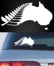 New Zealand NZ Kiwi Maori Fern Vinyl Decal Sticker Wall Car 4X4 Ute
