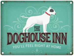 The Doghouse Inn Pub Sign Small Metal Sign(og)
