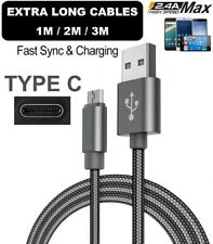 Cable for Samsung Galaxy S9 S10 PLUS Extra Long USB Type C 3.1 Fast Data Charger