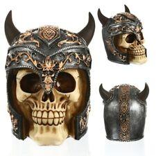 Statues Africa Home Decor Skull Ox Horn helmets Human Resin Skeleton Art Statue