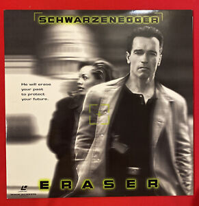 Laserdisc Eraser - Schwarzenegger / LD / USA LD