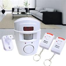 Home Security Alarm System IR Sensor Remote Control Wireless Infrared Motion Set