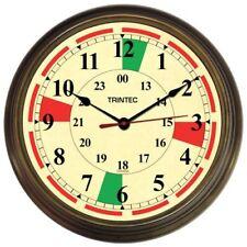 "TRINTEC  COM-01-PWS 14"" Antique Brass Post-War Ships Radio room Sector Clock"