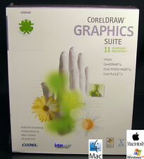 Corel DRAW 11 Graphics Suite + Photo Paint 11 Upgrade Win/Mac OVP NEU