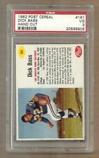 1962 POST CEREAL FOOTBALL DICK BASS  # 161  PSA 3