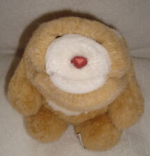 "Gund Snuffles 7"" Butterscotch Bear Light Brown Tan White Plush Stuffed Korea"
