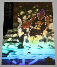 John Stockton Special Edition 1995 Hologram Official NBA Basketball Card BV$$