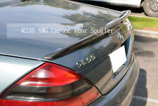 Carbon Process Trunk Spoiler for Mercedes R230 A Type SL55Amg SL500 SL600