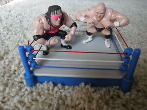 WWF Grudge Match 1997 AUSTIN vs BRET HART Playmates ring action figures WWE