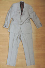 Men's Alexandre Savile Row Grey Pinstripe 2 Piece Suit Large R2-1