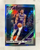 2019-20 Donruss Optic Marvin Bagley Silver Holo Prizm Refractor Non Auto Kings