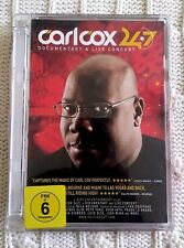 CAR LCOX 24/7- DOCUMENTARY AND LIVE CONCERT – DVD, R-2+4, LIKE NEW, FREE POST