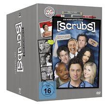 SCRUBS DVD BOX - DIE ANFÄNGER - DIE KOMPLETTE SERIE (Staffel 1-9) - 31 DVD's NEU