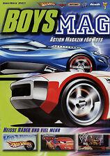 Prospekt Boys Mag Magazin 2010 2011 Hot Wheels Matchbox Toy Story 3 Batman Cars