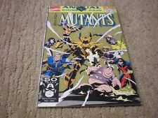 New Mutants Annual #7 (1983 1st Series) Marvel Comics Vf/Nm